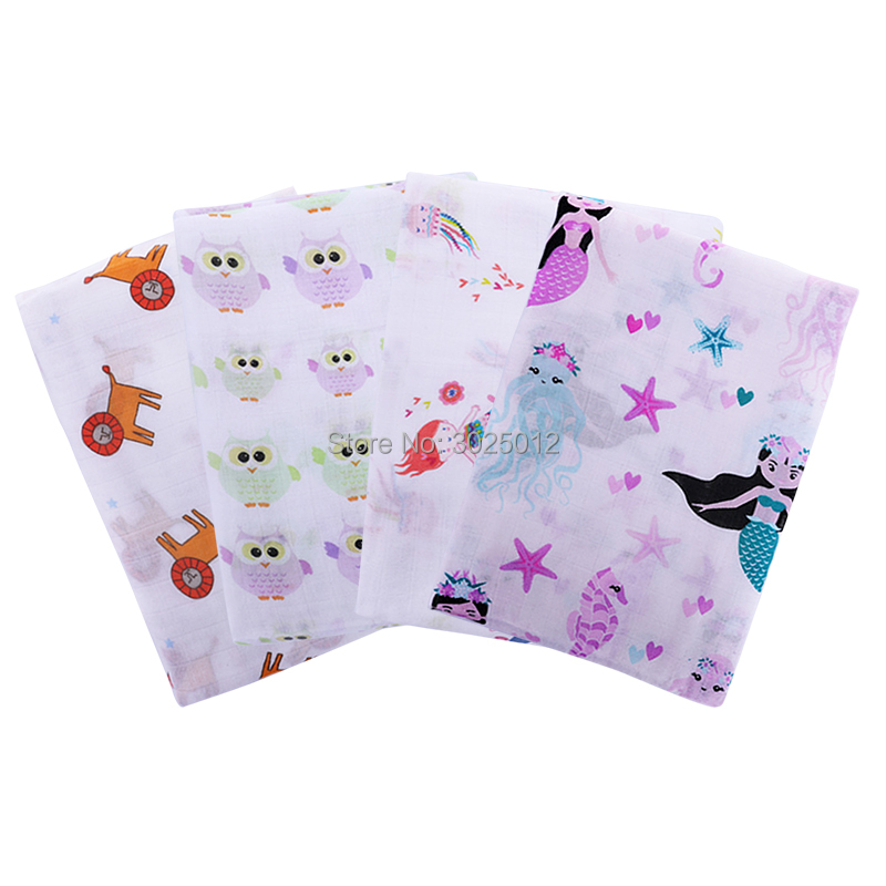 Soft Bamboo Baby Muslin Swaddle Blanket 70% Bamboo 30% Cotton Perfect Baby Shower Gift Receiving Blanket Muslin Baby Swaddle цена