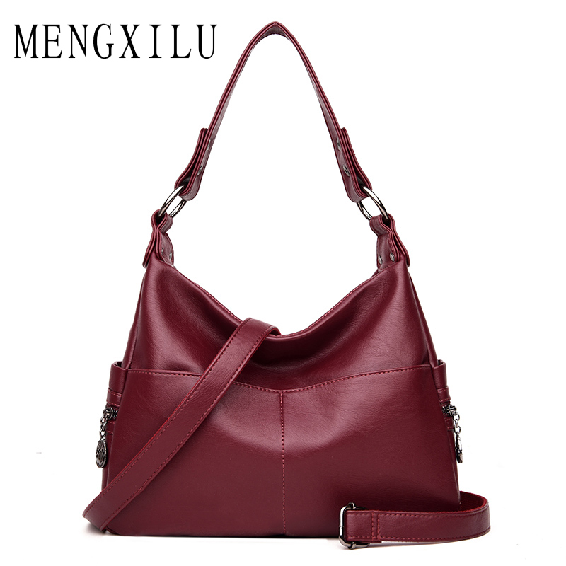 High Quality Leather Women Bags Handbag Women Famous Brand Ladies Crossbody Bags For Women Messenger Bag Designer 2 Pockets vogue star women bag for women messenger bags bolsa feminina women s pouch brand handbag ladies high quality girl s bag yb40 422
