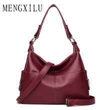 High Quality Leather Women Bags Handbags Women Famous Brand Ladies Crossbody Bags For Women Messenger Bag Designer Two Pockets все цены