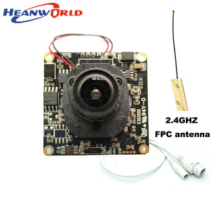 Image 2 - 1080P WiFi Camera Wireless IP Camera Wifi HD 2.0MP 720P Onvif Security Camera Module with  Antenna SD Card Slot Audio Port