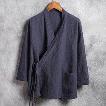Traditional Kung Fu Linen Shirt