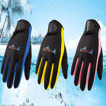 Mannen Vrouwen Kind Zomer 1.5mm Neopreen Warm Duiken Anti-slip Windsurfen Surfen Spearfishing Snorkelen Varen Handschoenen(China)