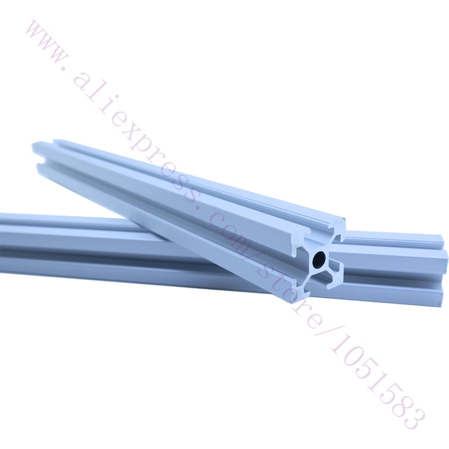 Un Juego Wilson TS Reprap Impresora 3D marco De Aluminio 2020 extrusiones de Aluminio con ranuras en T de Tubo 4*400mm 2*330mm