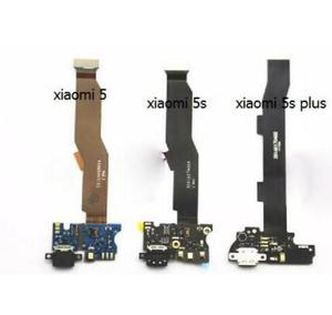 For Xiaomi Mi 5 MI5 Mi5s M5 5S M5S PLUS USB Charger Charging Port Dock Connector Flex Cable with Microphone Module Board(China)