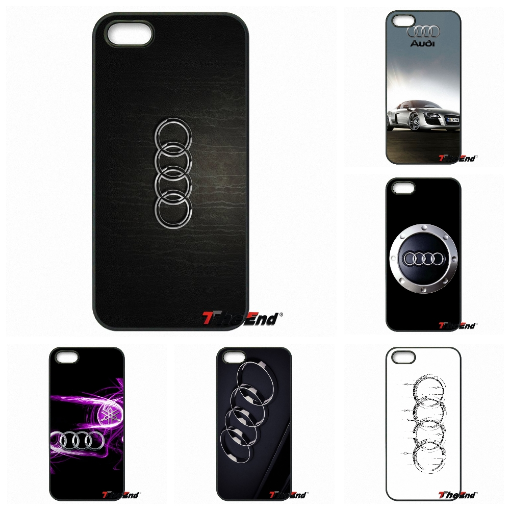 For Samsung Galaxy A3 A5 A7 A8 A9 Prime J1 J2 J3 J5 J7 2015 2016 2017 Hot Sale For Audi White logo Mobile Phone Case