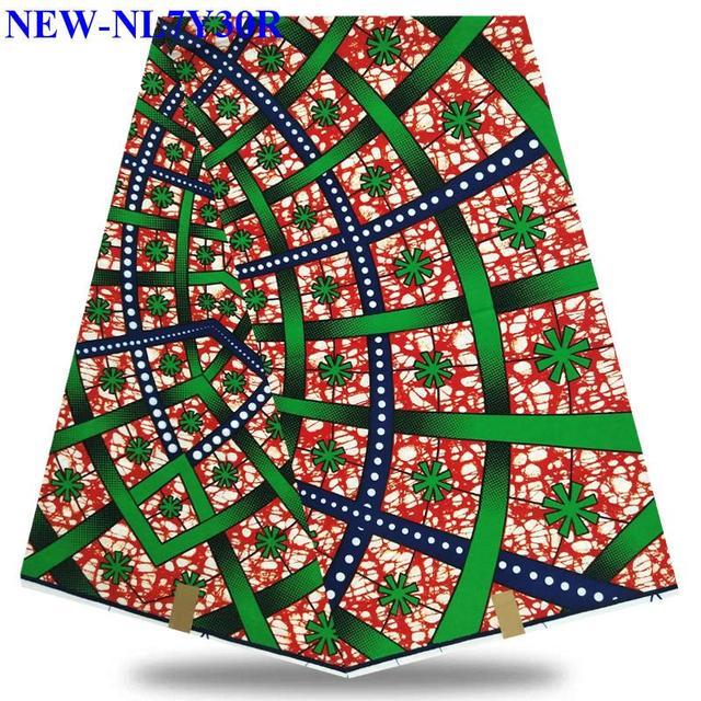 2018 latest 100% cotton african fabric wax /african hollandais real dutch super wax hollandais AA-DM7