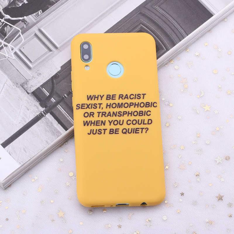 لسامسونج S8 S9 S10 S10e زائد نوت 8 9 10 A7 A8 الإيمان جيدة يقتبس نعرفكم الكلمات الحلوى سيليكون جراب هاتف كابا Fundas كوكه