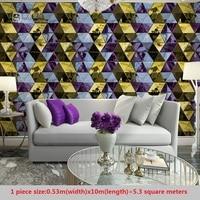 KTV Wallpaper 3d Stereo Personality Fashion Flash Wall Cloth Bar Hotel Fancy Ballroom Box Theme Room Wallpaper