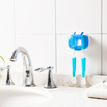 UV Toothbrush Sanitizer Wall-mounted Toothbrush Holder Stand UV Light Antibacteria Ultraviolet Disinfection Toothbrush Rack
