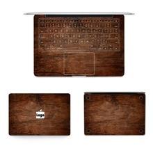 2016 Scorching Sale Laptop computer Full Vinyl Wooden Grain Sticker For Macbook Air Professional Decal Pocket book Sticker Pc Skins For Macbook Retina