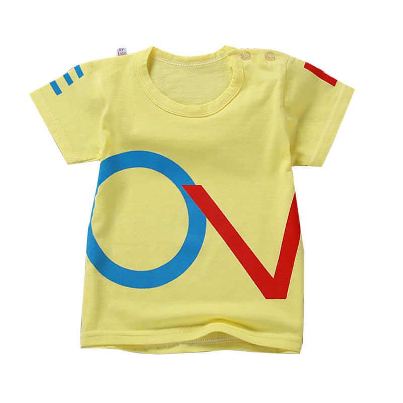92fb5128c7c2 Baby Boy T shirts for Children Clothing 2017 Brand Summer Clothes Boys  Short Sleeve Shirt Print