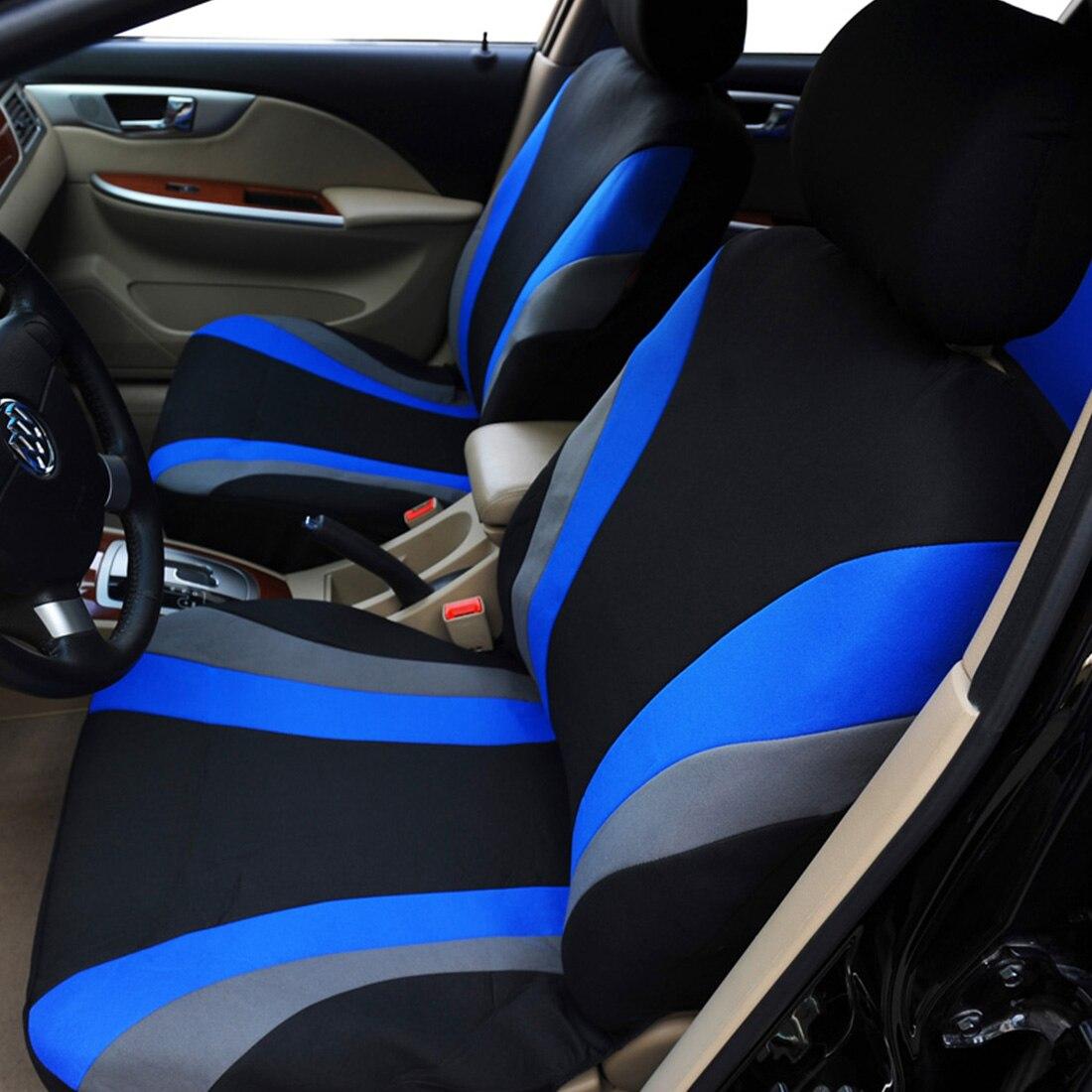 Dewtreetali 2018 offre spéciale housse de siège de voiture classique universel adapté à la plupart des voitures de camion SUV couvre siège protecteur 3 couleur housse de siège