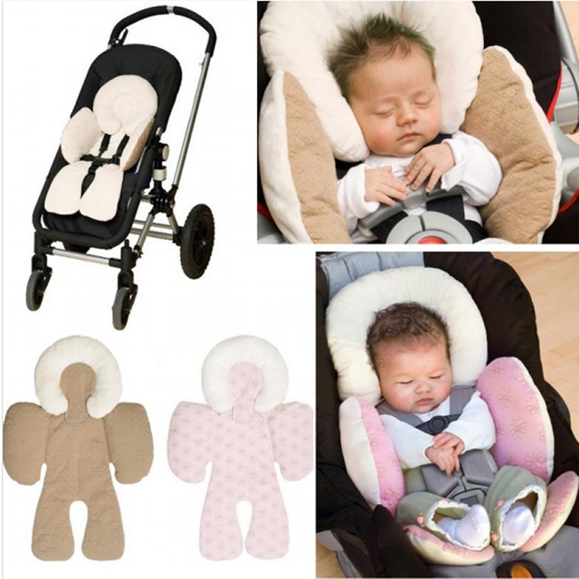 Soft Infant Stroller Pram Matress Two Side Warm Baby Car Seat Cushion Multifunction Head Body Protection