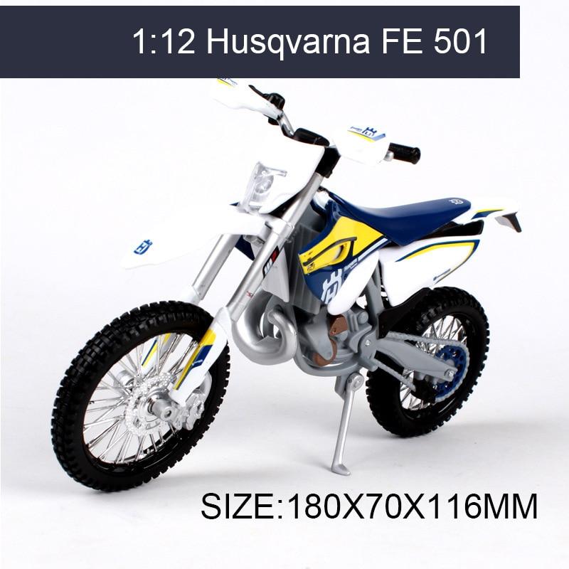 Husqvarna FE 501 off-road 1:12 schaal metalen diecast modellen - Auto's en voertuigen