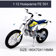 Husqvarna FE 501 off-road 1:12 model logam diecast motosikal motosikal mainan miniatur Toy For Collection