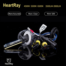 цена на Heartray High Precision High Brightness HID Xenon Bulb H1 H7 H11 9005 9006 D2H 9012 HID Bi-xenon Projector Lens lamp