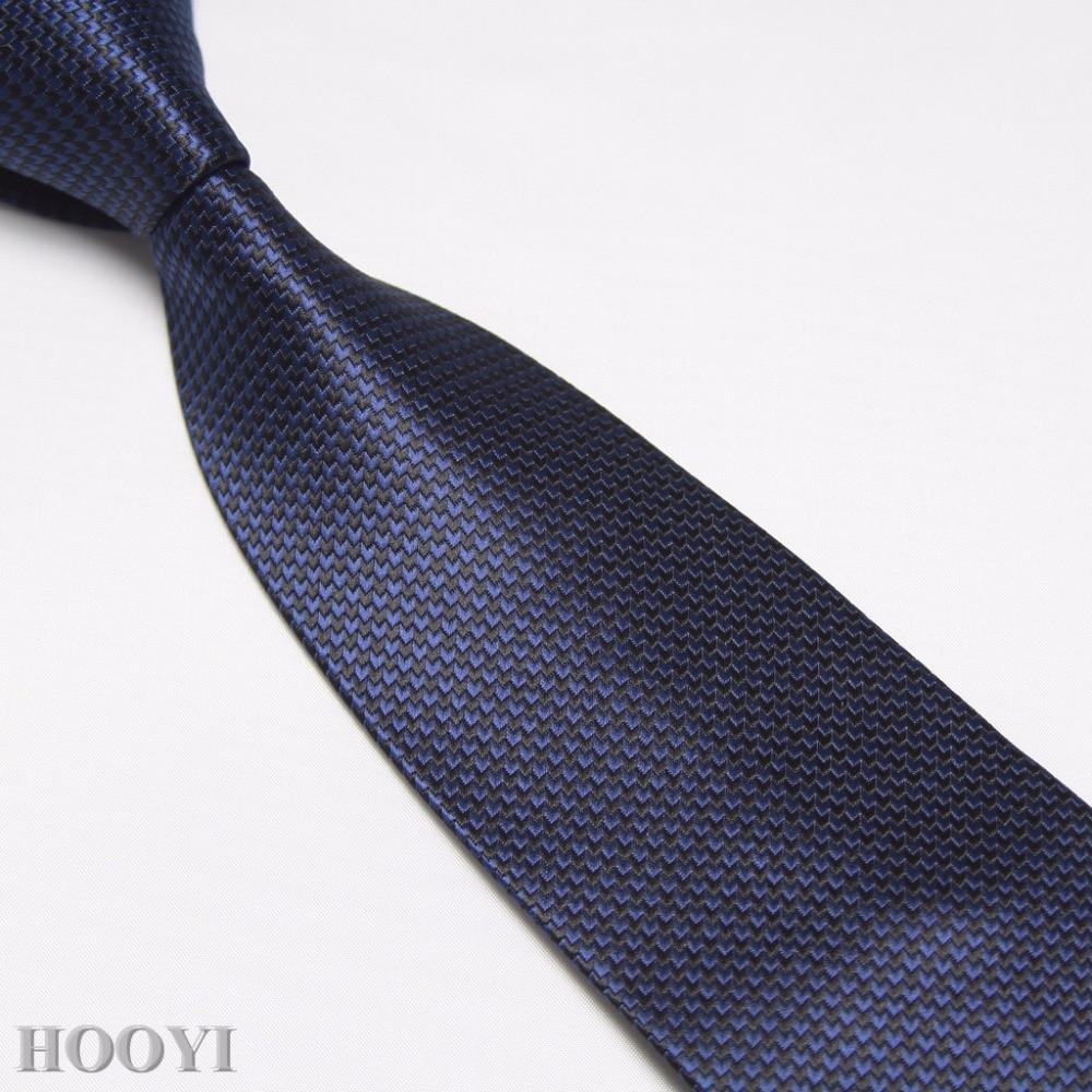 HOOYI Microfiber Mens Neck Ties Gift Fashion 2018 New Gravata Business Tie Wedding Party Necktie