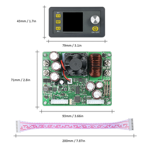 Image 5 - A CRISTALLI LIQUIDI Digital di Controllo Programmabile Buck Boost Modulo di Alimentazione A Tensione Costante di Corrente DC 0 50.00 v/0 20.00A uscita DPS5020