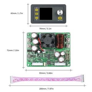 Image 5 - Saída dps5020 da corrente constante dc 0 50.00 v/0 20.00a do módulo da fonte de alimentação do buck impulso do controle programável digital do lcd