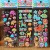 WYQ, étiquette à bulles en PVC pour enfants et garçons, 5 pièces/ensemble, 13 motifs au choix, jouets marque à la mode, dessin animé, WYQ