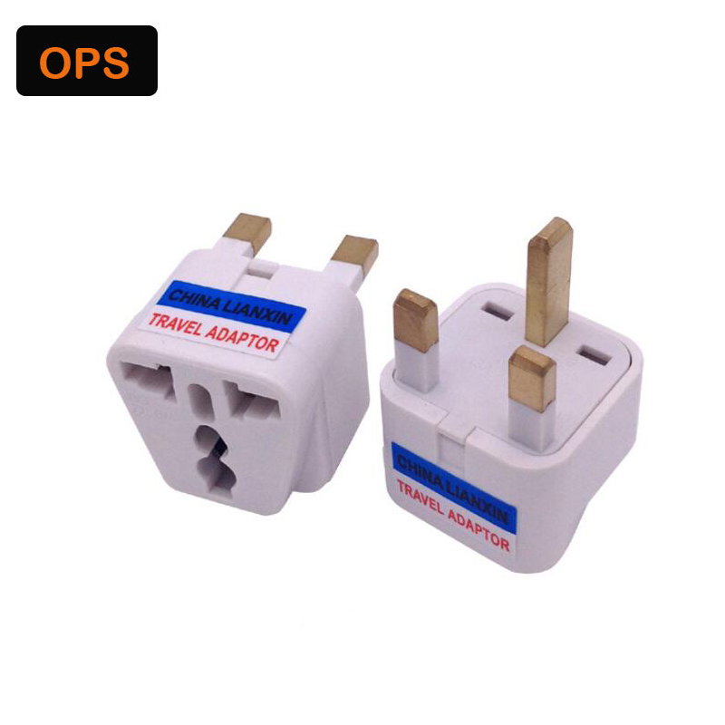 20pcs Universal EU South Korea Plug Adapter Converter US AU To UK Travel Power Electrical Socket Outlets