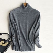 Cashmere Sweater Women Winter Turtleneck Knitted Sweaters Long Sleeve Pullover Warm Female Jumper Fashion Bottoming Shirt Tops