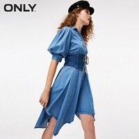 ONLY Waist Belt Denim Dress |118242525