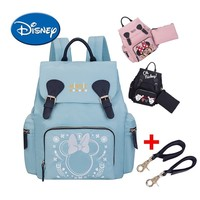 Disney Diaper Bag Large Capacity Insulation Bag Mommy Backpack Mickey Waterproof Maternity Bag