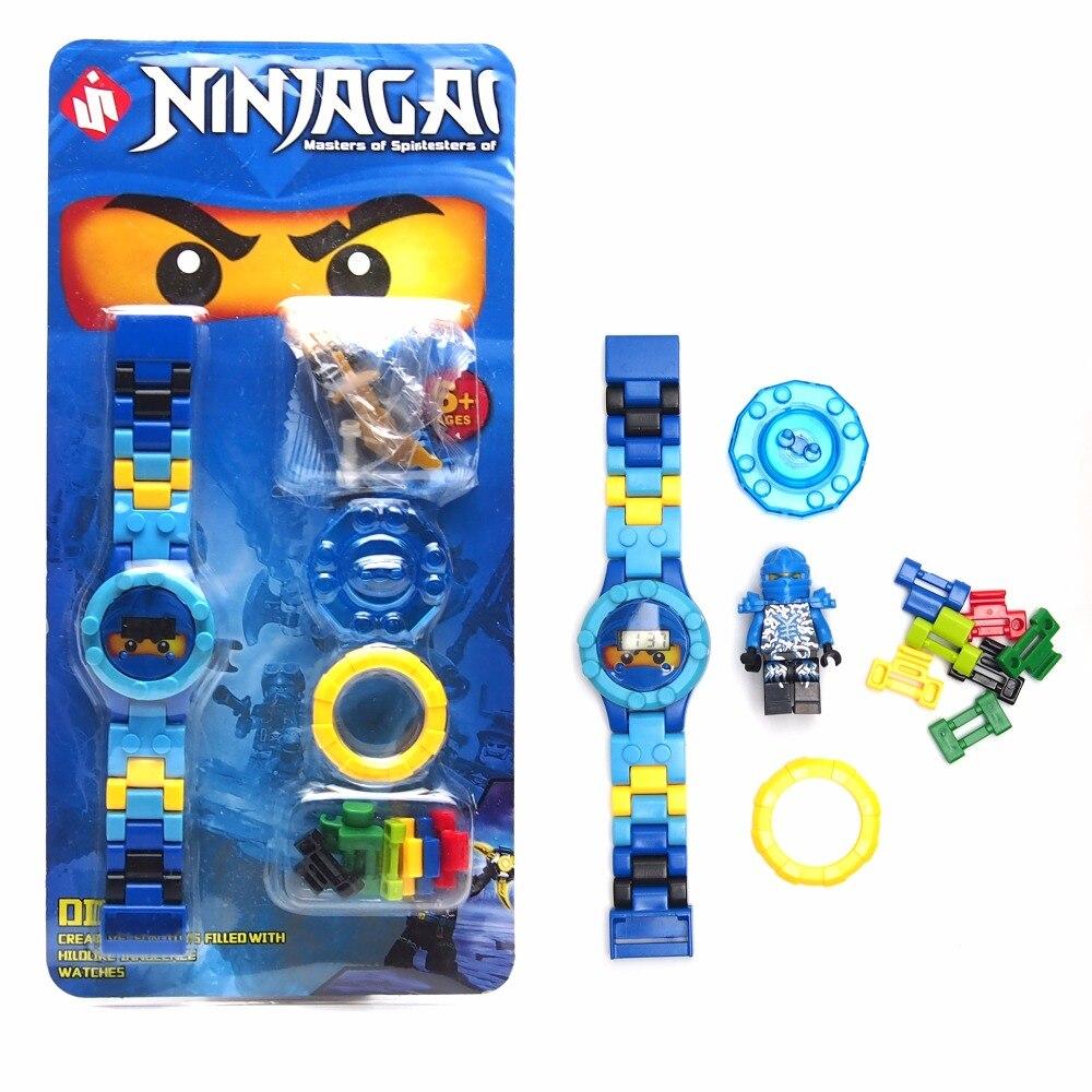 NINJAGOE minifigures Yapı taşları Orijinal kutusu DOLL Phantom Ninja İzle KAI/JAY/LLOYD Tuğla Oyuncaklar hediye