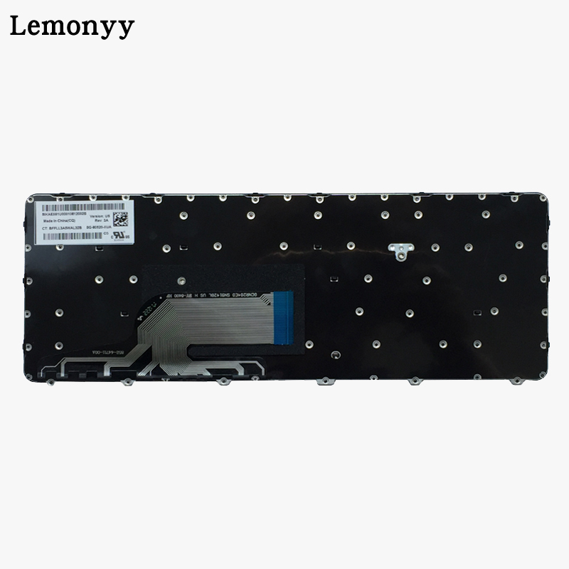 Image 4 - New US Laptop Keyboard For HP Probook 430 G3 430 G4 440 G3 440 G4 445 G3 640 G2 645 G2 English black Keyboard with frame-in Replacement Keyboards from Computer & Office on