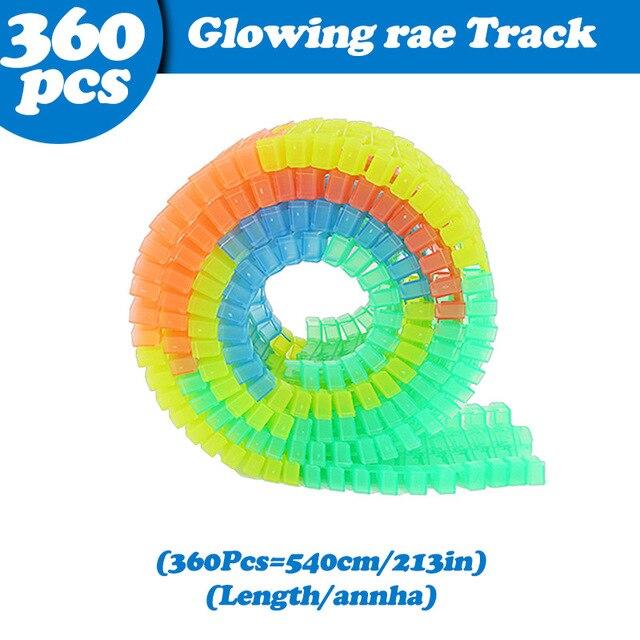 360Pcs Tracks