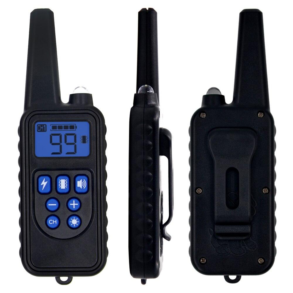 Remote Control Waterproof Dog Training Electric Shock Collar  4