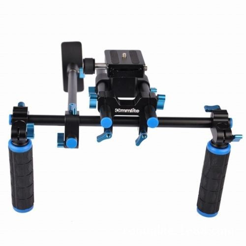ФОТО F14123 Commlite CS-V1 High Strength Aluminum Alloy DSLR Shoulder Mount Rig Shoulder Pad Support Bracket for Cameras / Camcorders