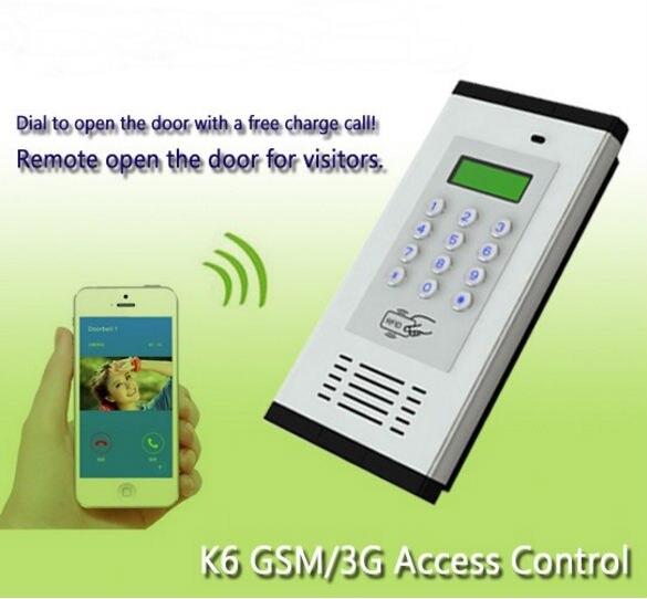 Yobangsecurity Gsm 3g Wireless Audio Intercom Gate Door Opener Door