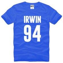 e4ecf4ba41e Rock 5SOS 5 Seconds of Summer Ashton Irwin Printed Mens Men T Shirt Tshirt  New Summer O Neck Cotton T-shirt Tee Camisetas Hombre