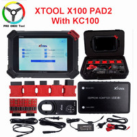 Professional X100 PAD2 Pro OBD2 Car Diagnostic Tool with key programmer For V W 4th 5th Immobilizer and Odometer adjustment