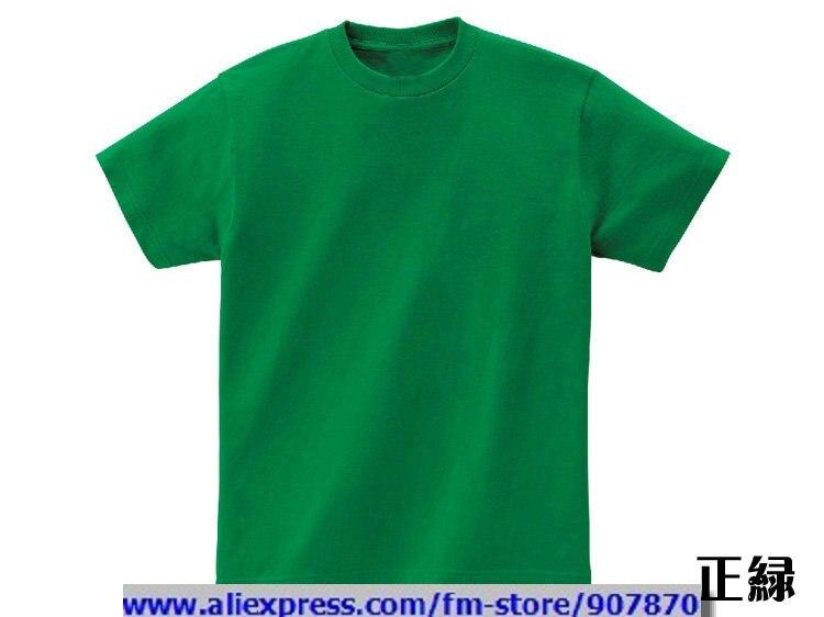 Cheap women 39 s men 39 s green blank t shirt solid color t for Cheap bulk custom t shirts