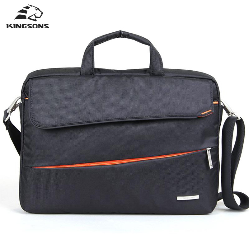 ФОТО Kingsons Brand 15.6 inch Handbags Notebook Computer Laptop Sleeve Bags Case for Men Women Briefcase Shoulder Bag