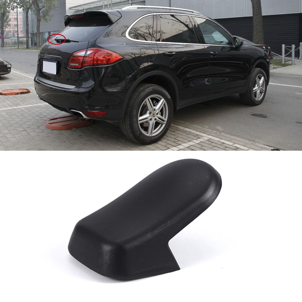 Car Auto Styling Accessories Repair Part For Porsche Cayenne 2003-2010 Rear Windshield Wiper Arm Nut Cover Cap Plastic