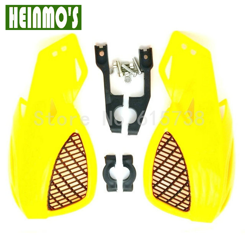 Handlebar Hand Guards Handguard Motorcycle Protector Protection Alloy Insert Pit Dirt Bike shin guards soccer
