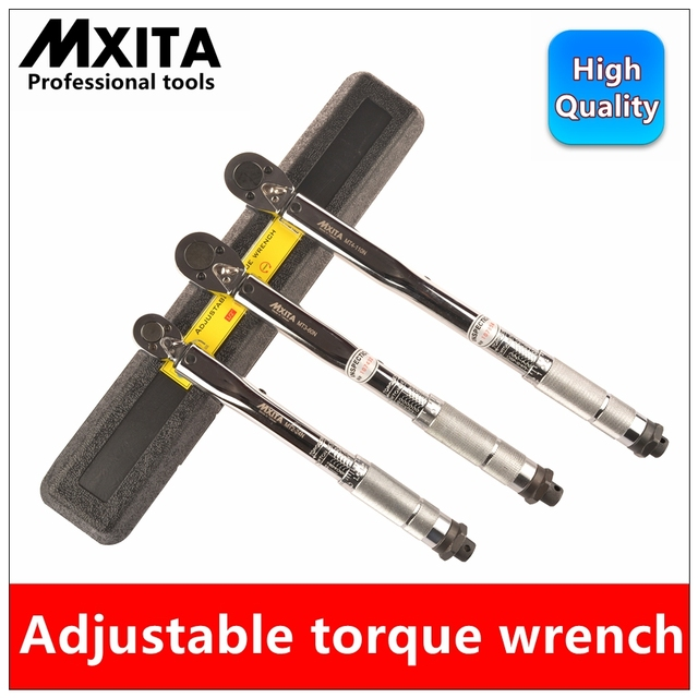 Mxita  Ratchet Wrench Adjustable Torque Wrench Hand  car Spanner Tool car Bicycle repair tools hand tool set
