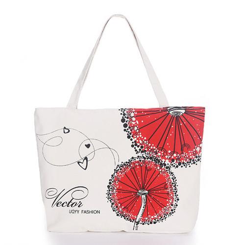 Miyahouse Women Canvas Handbag Character Cat Printed Shoulder Handbag Female Large Capacity Ladies Beach Bag Women Canvas Tote