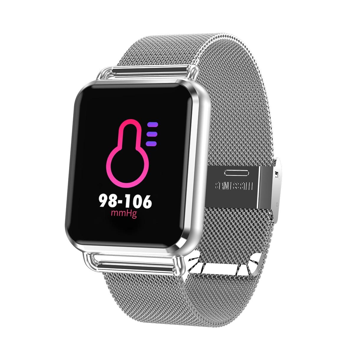 Q3 montre intelligente podomètre moniteur de sommeil, oxygène pression podomètre Fitness Tracker Smartwatch