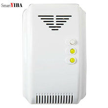 SmartYIBA Wireless Photoelectric Gas Detector For Home Security System 433mhz Gas Sensor