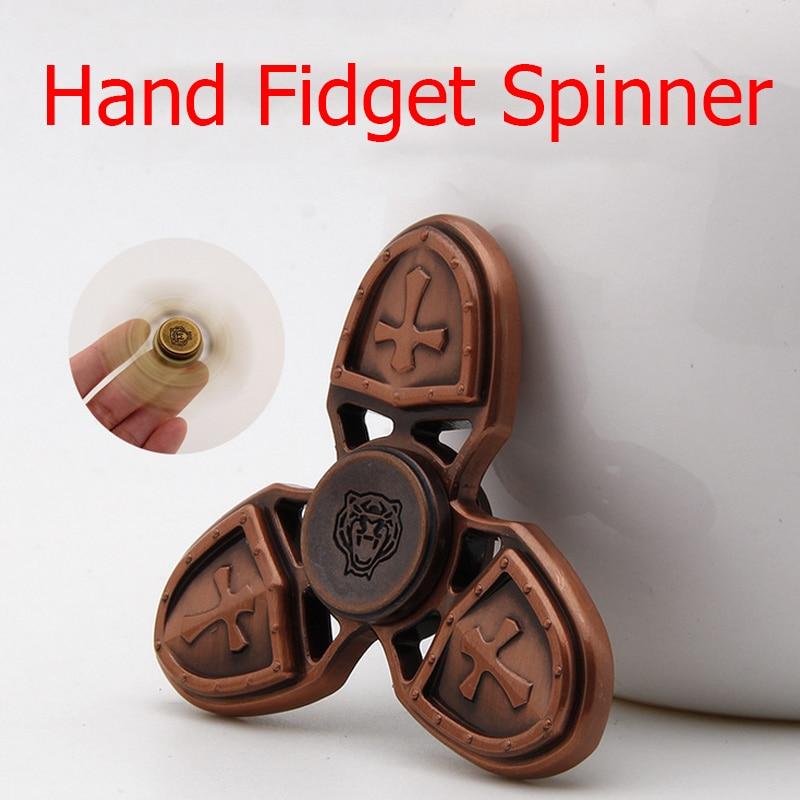 8 styles New Hot Selling EDC Toys Triangular Hand Spinner orqbar Alloy Professional Fidget Spinner Autism