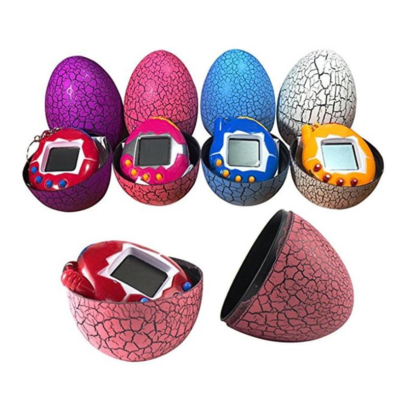 Multi-colors Dinosaur Egg Virtual Cyber Digital Pet Game Toys For Children Tamagotchis Digital Electronic E-Pet Christmas Gift