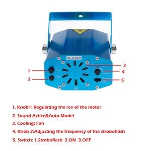 Image 5 - Disco Party Stage Light Club USB DJ เพลงบลูทูธลำโพงรีโมทคอนโทรล Mini RGB โปรเจคเตอร์โคมไฟ