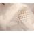 Alta Qualidade 2017 Primavera Outono Blusa Mulheres Padrão O Pescoço da Longo-luva Magro Elegante Oco Lace Blusa Camisas Brancas para o Sexo Feminino