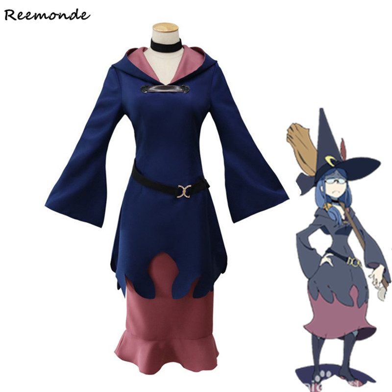 Anime Little Witch Academy Diana Cavendish Cosplay Costumes Professor Ursula Sucy Manbavaran Dresses School Uniform Women Girls