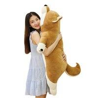 fancytrader-new-43-large-soft-anime-shiba-inu-plush-toy-stuffed-soft-lying-animal-akita-dog-doll-110cm-cartoon-pillow-present